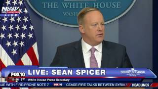 Download FULL: Sean Spicer's FIRST White House Press Briefing Video