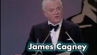 Download James Cagney Accepts the AFI Life Achievement Award in 1974 Video