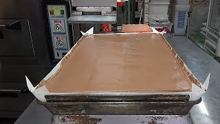Download How Giant Chocolate Jiggly Cakes Are Made Video