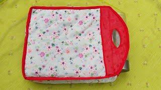 Download 10 मिनट में बनाऐ easy Handmade bag ll market bag ll lunch bag ll bag banana Video