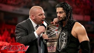 Download COO Triple H asks Roman Reigns to 'sell out': Raw, November 9, 2015 Video