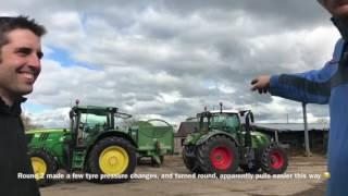 Download Fendt 724 v's John Deere 6210r Video