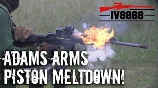 Download Adams Arms Piston AR-15 Meltdown! Video