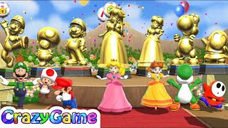 Download Mario Party 9 - All Characters Win and Lose - Champion Celebrations - Step It Up Video