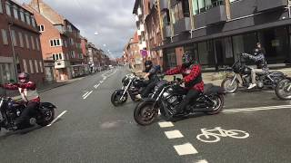 Hells Angels leave London clubhouse May 4th 2013 Free