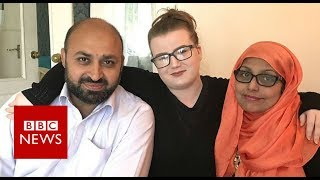 Download 'They're my mum and dad, not terrorists' - BBC News Video