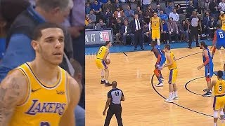 Download Lonzo Ball Takes Over With Stephen Curry Range In Final Minutes Of Overtime! Lakers vs Thunder Video