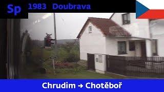 Download Jízda vlakem Sp 1983 DOUBRAVA - 18.11.2012 Video