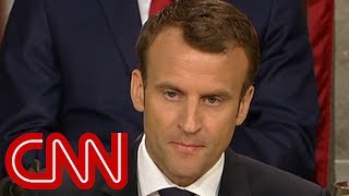 Download Macron warns US Congress: There's no Planet B Video