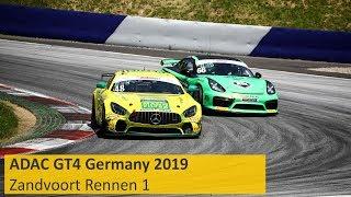 Download ADAC GT4 Germany Rennen 1 Zandvoort 2019 Re-Live Video