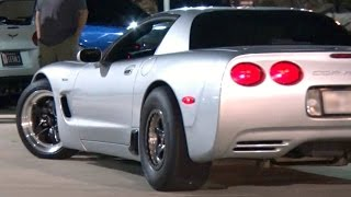 Download 1200hp Turbo STREET MONSTER Corvette! Video