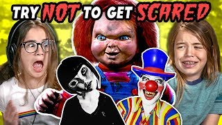 Download Kids React To Try Not To Get Scared Challenge #2 Video