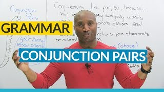 Download English Grammar: Correlative Conjunctions (NEITHER & NOR, EITHER & OR, BOTH & AND...) Video
