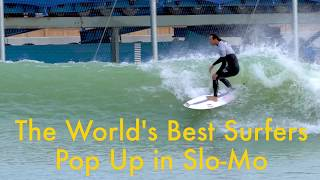 Download How the World's Best Surfers Pop Up (Slow Motion) Video