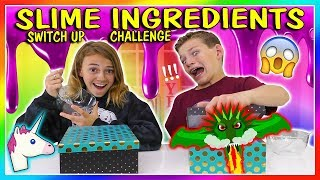 Download SLIME INGREDIENT SWITCH UP | We Are The Davises Video