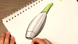 Download Industrial Design Sketching - How to Sketch Section Lines on Products Video