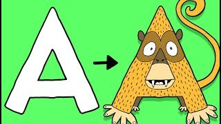 Download A for Ape - Learn To Draw ABC | Øistein Kristiansen Video