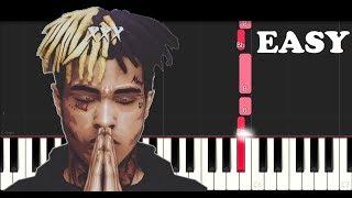 Download XXXTentacion - Changes (EASY Piano Tutorial) Video