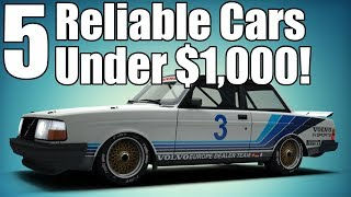 Download 5 Reliable Cars Under $1,000! Video