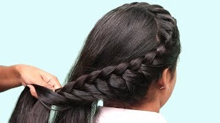 Download 3 easy and beautiful hairstyles for girls ★ hair style girl ★ hairstyles for girls ★ 2018 hairstyle Video