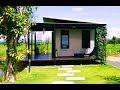 Download แบบบ้านชั้นเดียวโครงสร้างเหล็ก หลังเล็ก บ้านสวน สร้างบ้านตากอากาศแบบประหยัดเวลา Video