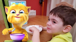 Download How to Get Kids to Eat with Talking Ginger Video
