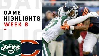 Download Jets vs. Bears Week 8 Highlights | NFL 2018 Video