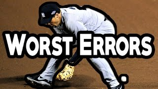 Download MLB: Worst Errors (HD) Video