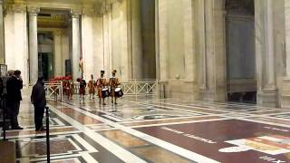 Download Changing of the Vatican Swiss Guards Jan 2011 505th Anniversary of the Papal Guards Video