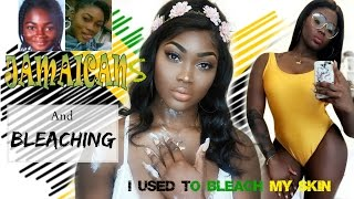 Download JAMAICANS AND SKIN BLEACHING | BLEACHING SUCCESSFULLY AT 15 AFTER GETTING BULLIED!! Video