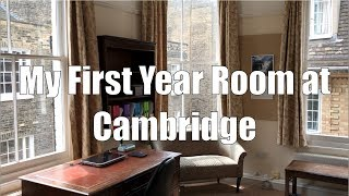Download My First Year Room at Cambridge Video