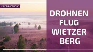 Download Mit der Drohne über den Wietzer Berg | Luftbilder Lüneburger Heide Video