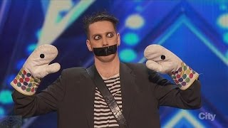 Download America's Got Talent 2016 Tape Face Incredibly Inventive Comedy Act Full Audition Clip S11E01 Video