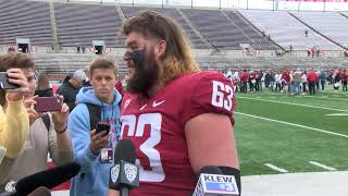 Download WSU Football: Liam Ryan after Spring Game 4/20 Video