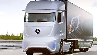 Download Mercedes Self Driving Truck Driving Itself Mercedes Future Truck 2025 Commercial CARJAM TV 4K 2015 Video
