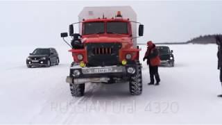 Download Suzuki Vitara stuck in Tundra. Broken Niva 4x4 and Ural Video