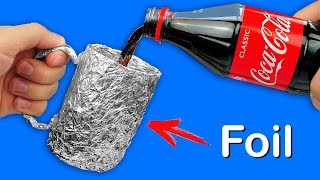 Download 9 USEFUL LIFE HACKS WITH ALUMINIUM FOIL Video