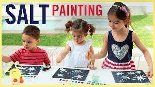 Download PLAY | Easy Salt Paintings! Video