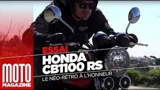Download Honda CB 1100 RS - Essai Moto Magazine 2017 Video