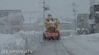 Download Thunder Snow & Immense Sea Effect Snowfall In Japan 大雪新潟県 Video