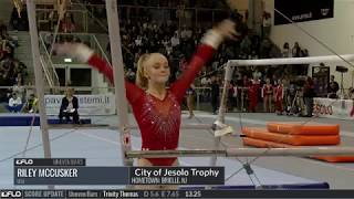 Download Riley McCusker, USA - Bars Team/AA Final - 2017 City of Jesolo Trophy Video