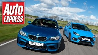 Download BMW M2 vs Ford Focus RS: Which is king on track? Video