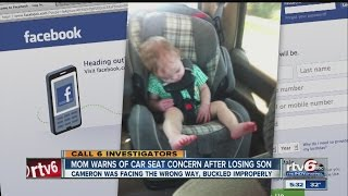 Download Mom shares car seat concern after son's death Video