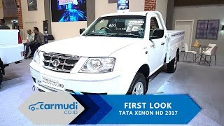Download Tata Xenon HD 2017 First Look - Ideal untuk kendaraan angkut? Video