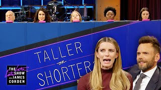 Download Taller or Shorter w/ Joel McHale & Betty Gilpin Video