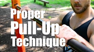 Download How to: Proper Pull up Form Video