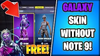 Download HOW to get the 'GALAXY' Skin WITHOUT Buying NOTE 9! (Store Method) Video