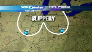 Download WGN Morning News Guy Showcases Dirty Weather Maps Video