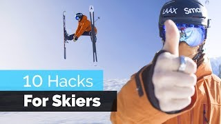 Download 10 HACKS FOR SKIERS Video