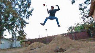 Download REAL LIFE FRUIT NINJA TRICK SHOTS *DANGEROUS* Video